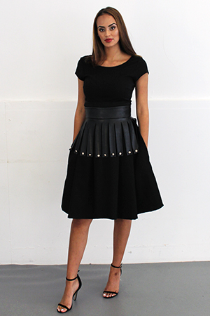 THE BONNIE SKIRT - WHATS YOUR SKIRT BLACK