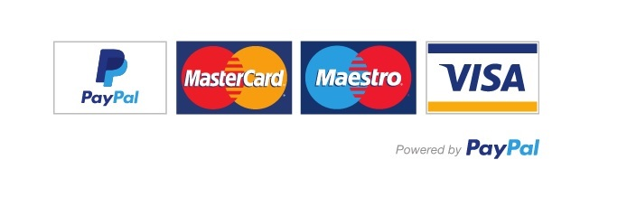 Accepted secure payment methods